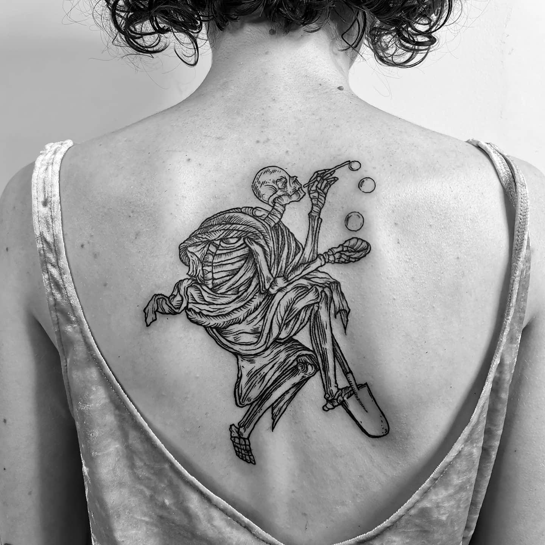 Inksearch tattoo Bo Hun