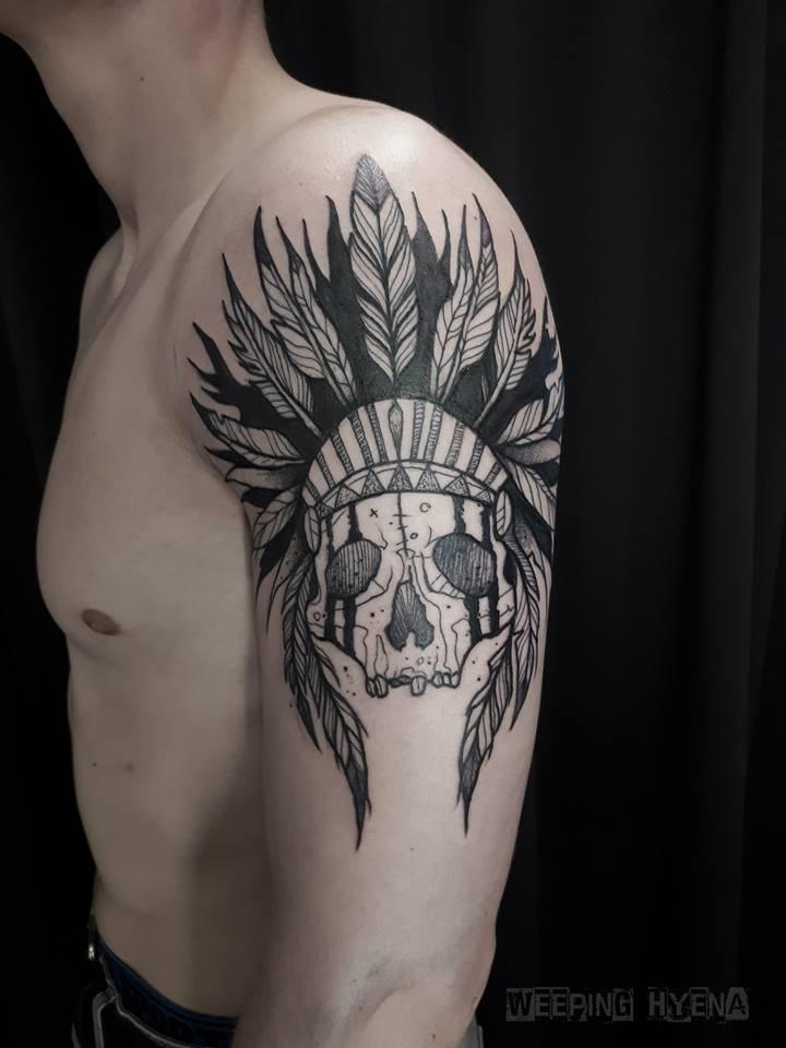 Inksearch tattoo Weeping Hyena