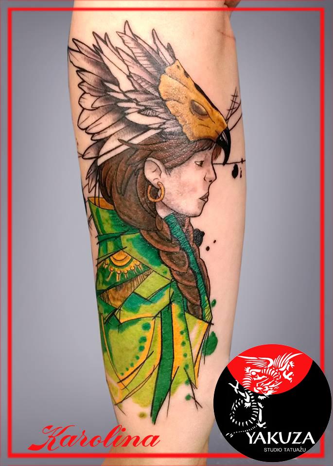 Inksearch tattoo Karolina Myśliwiec