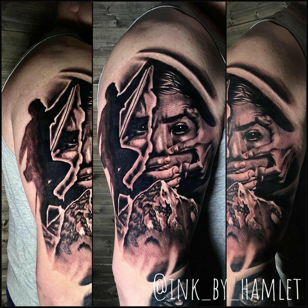 Inksearch tattoo Hamlet