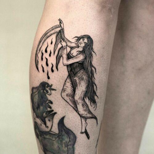 Ola Krupnik inksearch tattoo