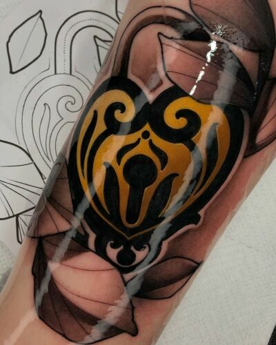 Da Vinci's Fox inksearch tattoo