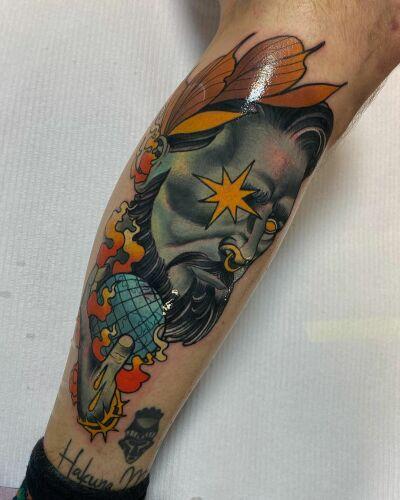 Ania Pająk inksearch tattoo