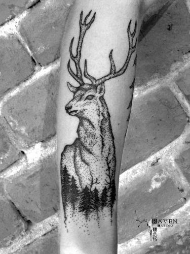 Raven Land Tattoo inksearch tattoo