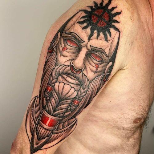 CLAVTONE inksearch tattoo