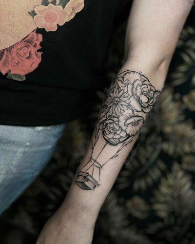 Kuharska inksearch tattoo