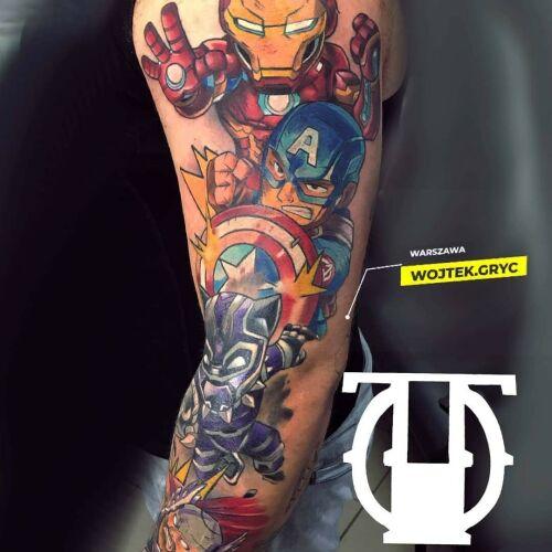 Wojtek Gryc inksearch tattoo