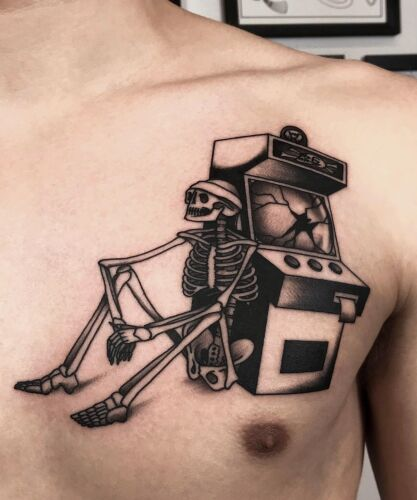 Maksim Horror inksearch tattoo