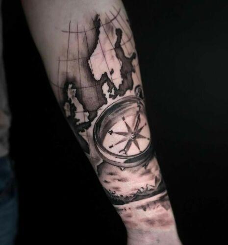 Szron Poznań inksearch tattoo