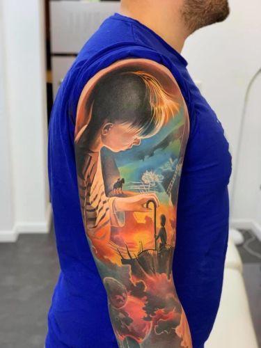 Levgen Knysh inksearch tattoo