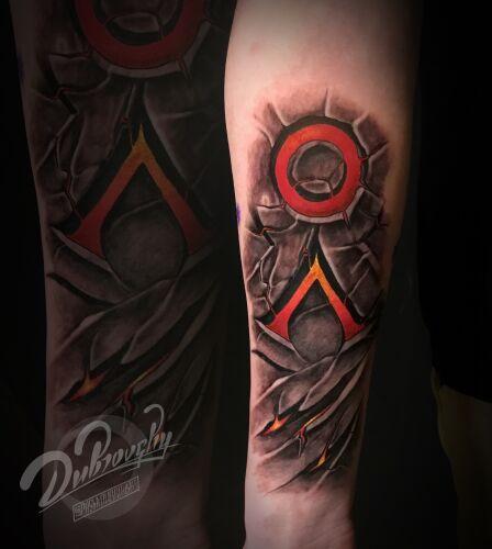 Pasha Dubrovskii inksearch tattoo