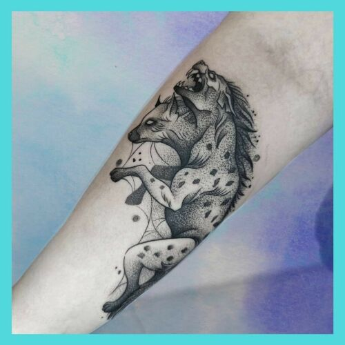 Czarnorożec Tattoo inksearch tattoo