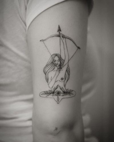 Anna Indianka inksearch tattoo