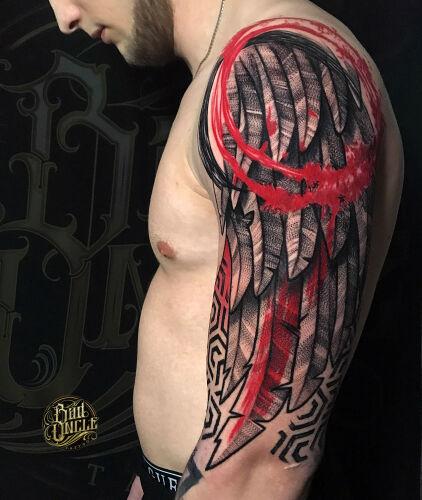 """Rafał """"Wujek"""" Wójcik inksearch tattoo"""