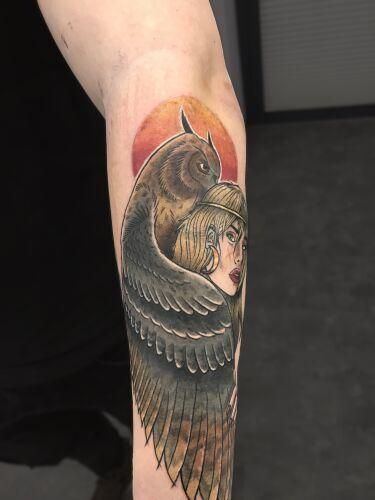 Notomasz Tatuaż inksearch tattoo
