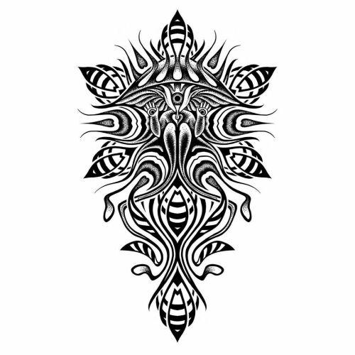 Brokat inksearch tattoo