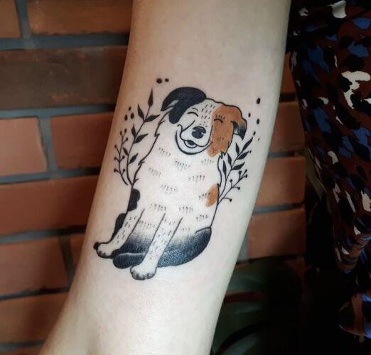 Ewa Dobrochna inksearch tattoo