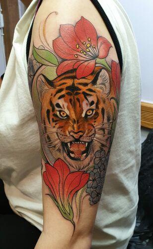Maria Koroleva inksearch tattoo