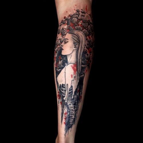 Sara 'SAS' Sapkowska inksearch tattoo