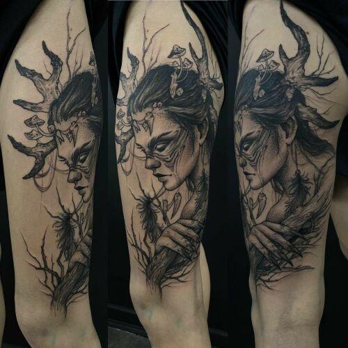Julita Gołębiewska inksearch tattoo