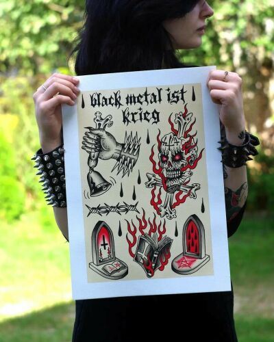 SPIKEHEAD inksearch tattoo