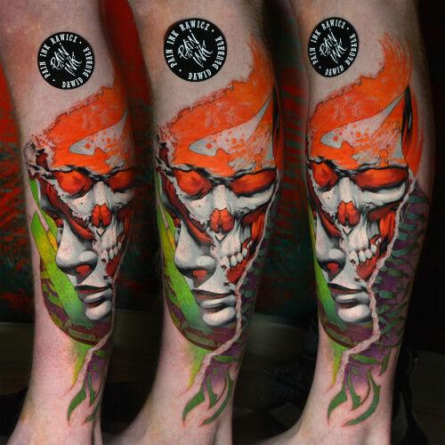 Dawid Dłubała inksearch tattoo