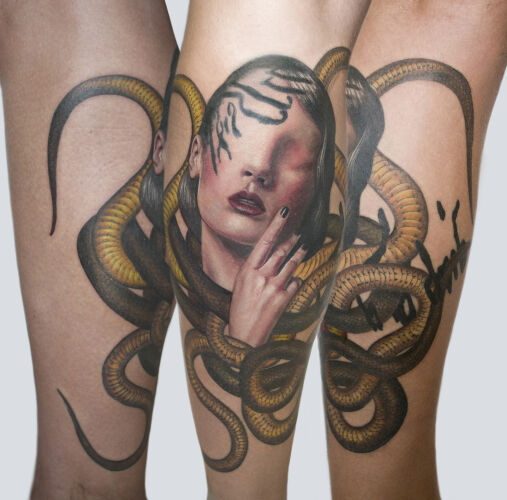 Monika Martykanova inksearch tattoo