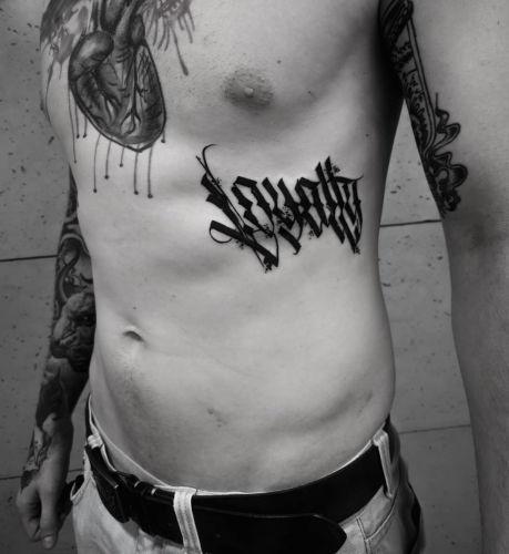 Emil Ćwik - Licho nie śpi inksearch tattoo