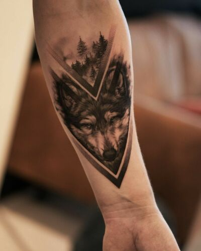 Horyzont inksearch tattoo
