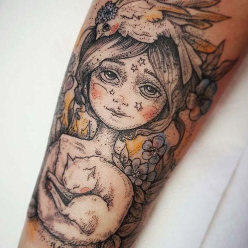 Emily's Moose - Karolina Kubikowska inksearch tattoo