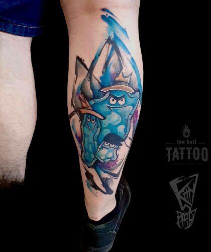Kitty Wonderland inksearch tattoo