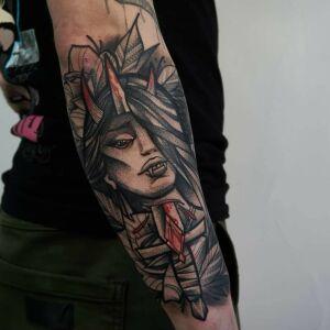 grubakrechatattoo inksearch tattoo