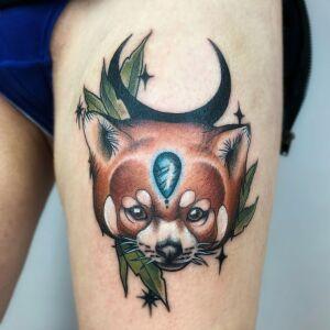 Eevee Morningstar inksearch tattoo