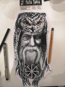 Baba Yaga inksearch tattoo