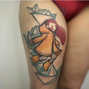 Momo Miel inksearch tattoo