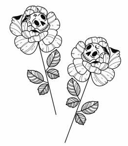 Krzywa Kreska inksearch tattoo