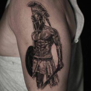 Marcin Nencek Grey eye Tattoo inksearch tattoo