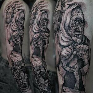 Leshy inksearch tattoo