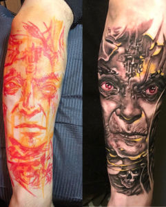 Henry Anglas inksearch tattoo