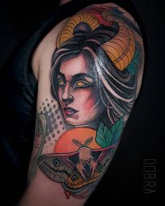 Aleksandra Dobra inksearch tattoo