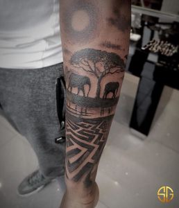 Anthony Paul Noble inksearch tattoo