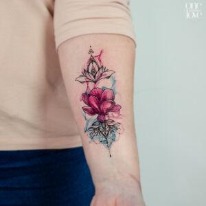 Hannah Evolution inksearch tattoo